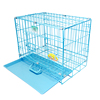 Large Outdoor Metal colored dog crates