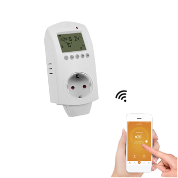 WIFI Digital Plug In Thermostat For Floor Heating