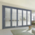 Rogenilan 75 series high performance aluminum sliding folding door for large view