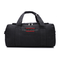 Unisex big Capacity canvas travel bag custom luggage duffle bag