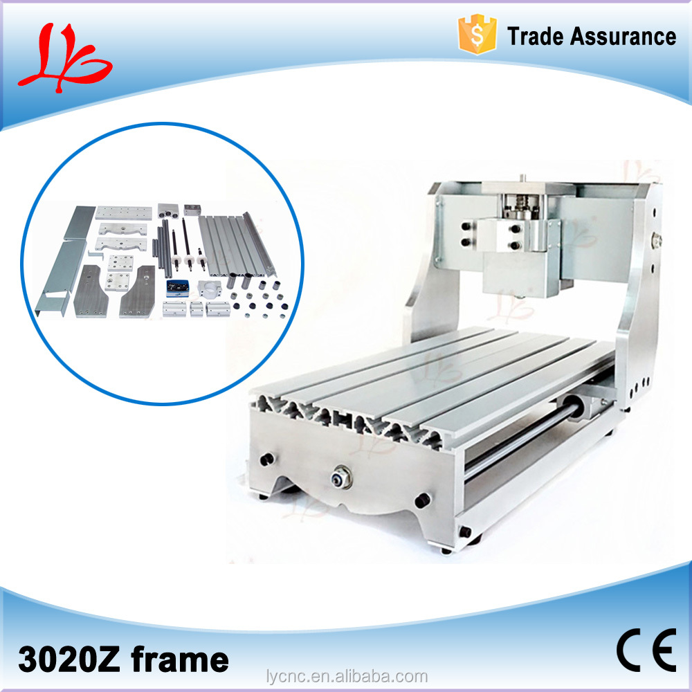 china factory price CNC DIY frame kit 3020Z cutting machine free taxes to Russian