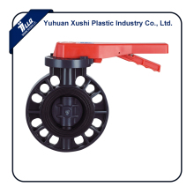 Plastic pvc big size irrigation system dripper water flow control Liquid Butterfly Valve