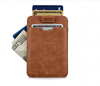 Slim Card Sleeve Wallet with RFID Protection-Ultra Thin Card Holder Design For Up To 12 Cards
