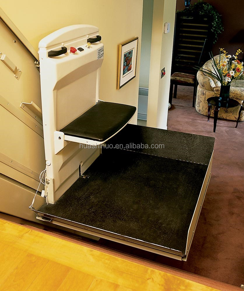 According to the customers' requirements order inclined wheelchair lift