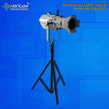 The Digital Led Cob 200W Ellipsoidal Stage Profile Spot Light For TV Station