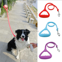 Silicone Heavy Duty Strong Heated Dog Leash Pet Walking Training Leads For Medium Large Dogs