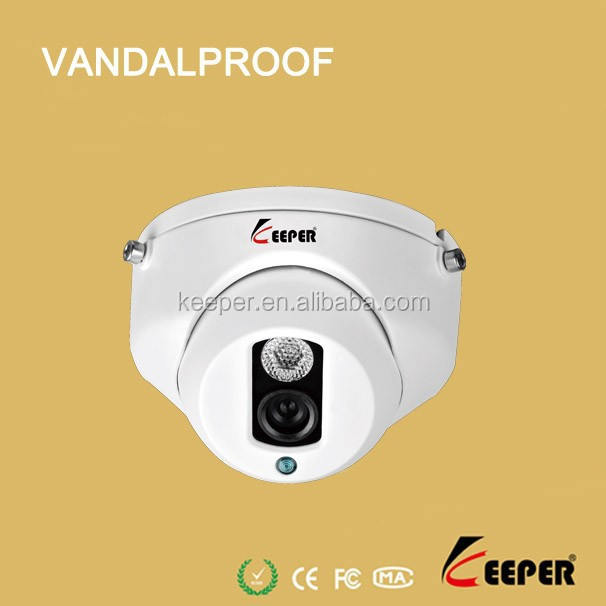 1/3 Sony CCD Color 700tvl Array Led IR Vandalproof Dome Rohs CCTV Camera