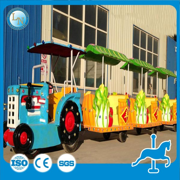LINO electric equipment amusment kids train! Tourist train shop mall trackless train for sale