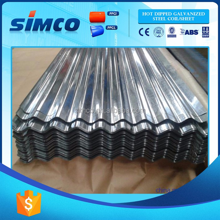 High Quality Factory Price steel roofing sheet weight of gi sheet