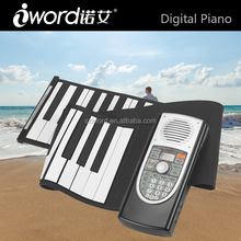 iWord 61 keys Music instrument roll up piano