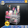 5 tier floor standing clear cosmetic store display stand with drawer cheap high quality