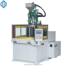 hot selling plug and phone case vertical plastic injection molding machine with Rotary Table