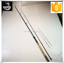 weihai high quality 70g casting weight 2 section carbon feeder fishing rod