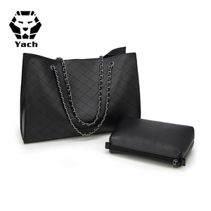 b6e2237bbae0 Custom lady pu fashion latest beautiful model wholesale trendy handbag name  brand purses and women hand