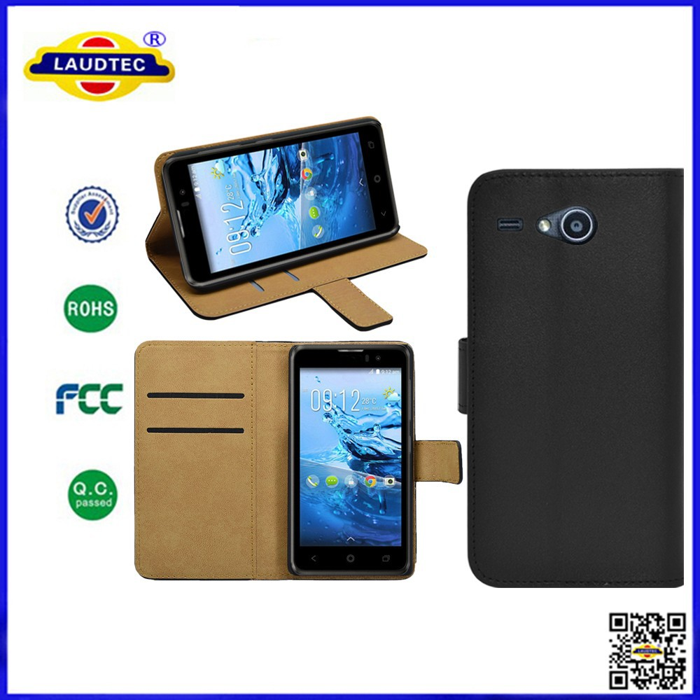 Premium PU Leather Flip Cover Case for Acer liquid Z520, Wallet Case with Stand for Acer liquid Z520