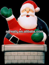 Giant inflatable Christmas santas claus balloon S8018