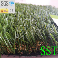 40mm Natural Color Artificial Turf Grass