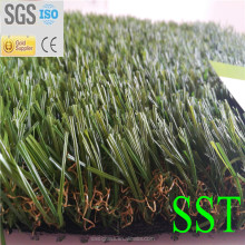 40mm Natural color artificial turf grass for home use