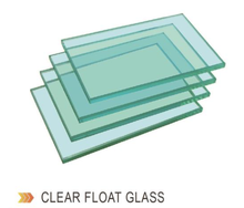 Different types of 4mm 5mm 6mm Building Glass clear float glass