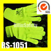 RILIN SAFETY nylon palm fit glove ,light-up gloves Guangdong suppliers with CE