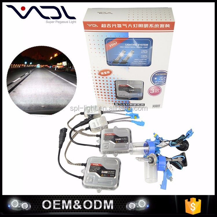 Safe guarantee xenon hid driving light easy installation 55w hid light