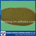 China Industrial abrasives synthetic diamond green and yellow RVD