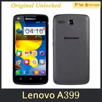 "0510 Lenovo A399 Mobile Phone 5.0"" Inch MTK6582 Quad Core Android 4.4 Bluetooth WiFi 3G WCDMA Dual SIM Smart Phone"