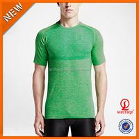 Custom men's running t shirts, gym wear for men,garments manufacturer China H-576