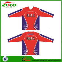 Custom Sublimation Printing Bmx Racing Wear
