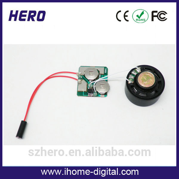 Factory supply motion sensor chip for gift item