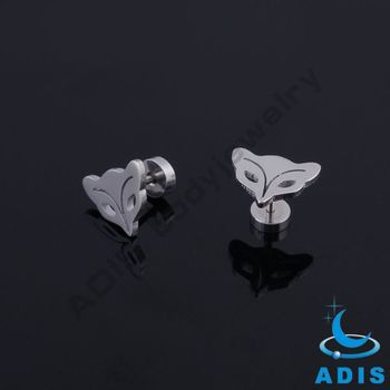 Wholesale fashion body jewelry custom logo fake stainless steel studs jewels