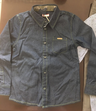 denim boys fancy shirts wholesale kids beautiful model dresses child clothing