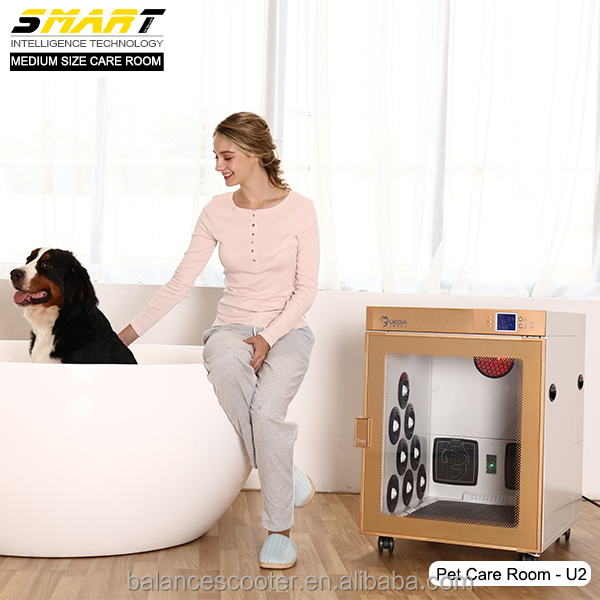 Dog grooming <strong>equipment</strong> supplies low noise 51-69 dB cabinet type best dog dryer cage