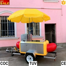 hot dog cart mobile food for sale
