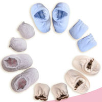 tc15053 baby sock shoes hot selling super lovely fashion plain cotton warm infant baby booties