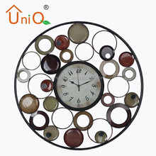 M2411 funny design and best quality quartz wall clock