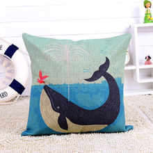 dolphin custom printing small motorcycle seat cushion