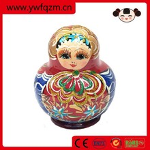 face 3d dolls traditional matryoshka doll for children games