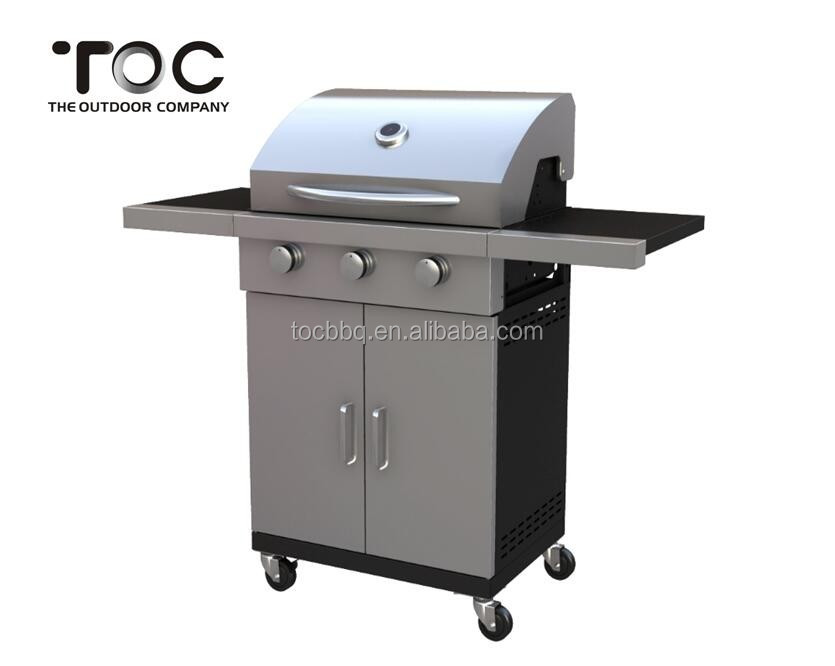 High Quality BBQ/Stainless Steel Gas Barbecue Grill/Trolley Gas Grill