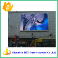 Alibaba express P10 rgb screen led building wall