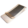 Customized skin friendly light weight titanium metal money clip