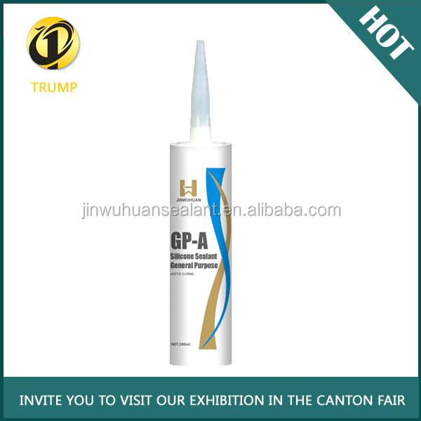 General purpose silicone sealant/adhesive for glass factory supply same quality as Dow Corning