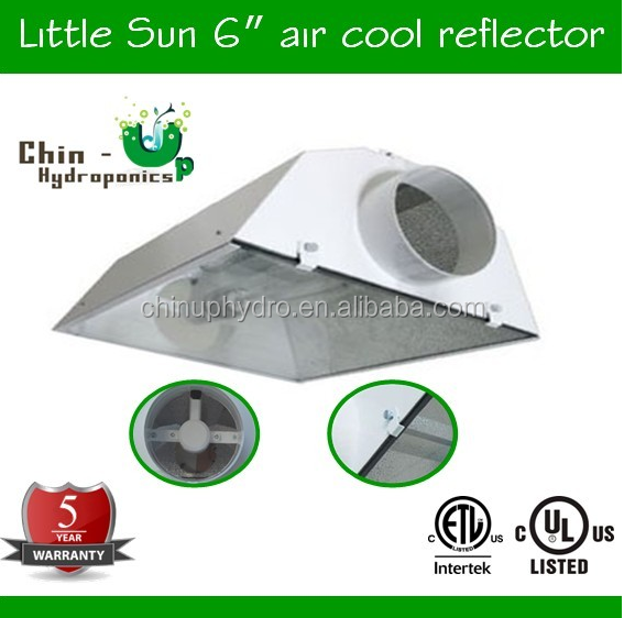 "2016 new plant air cooled tube 6"" grow light reflector/LITTLE SUN"