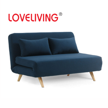 LOVELIVING Modern Fabric Folding Sofa Bed