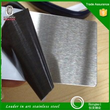 Trade assurance supplier of stainless steel hairline finish 201 for kitchen accessory