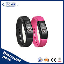 Promotion Bluetooth fitbit charger health watch display for wristband