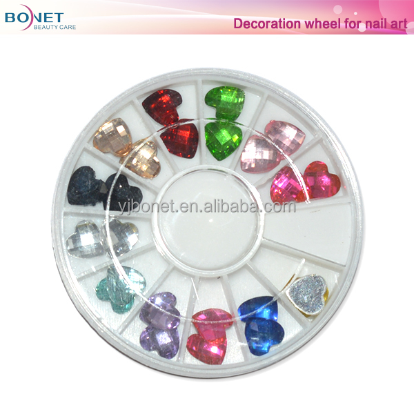 BDW0044 Beauty Wheels nail Art Kit Set -DIY Nail Deacal Sticker Decoration Manicure Nail Art Tip Design Wheel