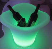 Luminous night club led ice bucket