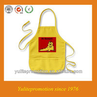 100% cotton apron for baby for kids
