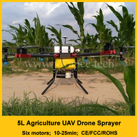 20 times spraying efficient automatic flying agricultural drone sprayer for farm, sugar cane, fruit tree, orchard, grass, crop